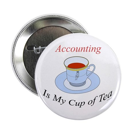 Accounting is my cup of tea Button
