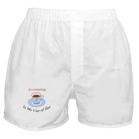 Accounting is my cup of tea Boxer Shorts
