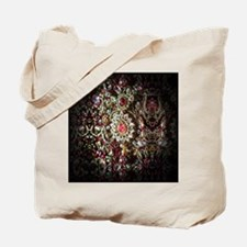 Indian Diamond and Ruby Tote Bag