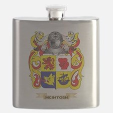 McIntosh Coat of Arms - Family Crest Flask