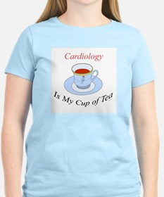 Cardiology is my cup of tea Women's Pink T-Shirt