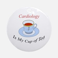 Cardiology is my cup of tea Ornament (Round)