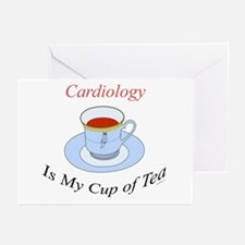 Cardiology is my cup of tea Greeting Cards (Packag