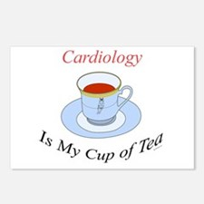 Cardiology is my cup of tea Postcards (Package of