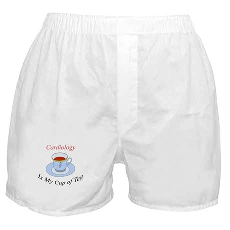Cardiology is my cup of tea Boxer Shorts
