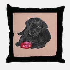 "Lab Puppy ""Jake"" Throw Pillow"