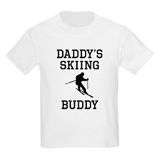 Daddys Skiing Buddy T-Shirt