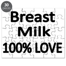 BREAST MILK 100% LOVE Puzzle