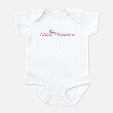 Cutie Patootie Pink Baby Bodysuit