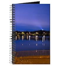 Lake at night Journal
