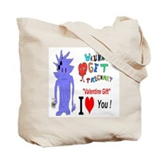 Valentine Love Maze Tote Bag