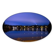 Lake at night Decal