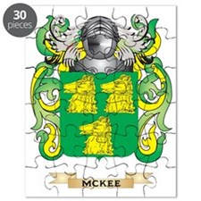 McKee Coat of Arms - Family Crest Puzzle