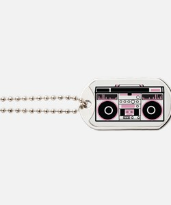 Simple vintage speakers boom box from the Dog Tags