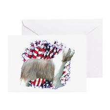 Bearded Patriotic Greeting Cards (Pk of 10)