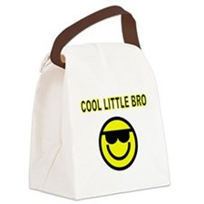 COOL LITTLE  BRO Canvas Lunch Bag
