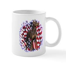 Dobie Patriotic Mug