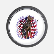 Dobie Patriotic Wall Clock