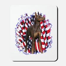 Dobie Patriotic Mousepad