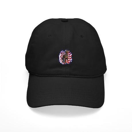 Dobie Patriotic Black Cap
