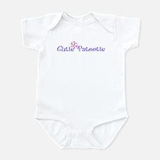 Cutie Patootie Purple baby Bodysuit