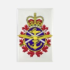 Canadian Forces Logo Rectangle Magnet