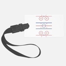 Ice Rink Luggage Tag