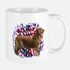 Golden Patriotic Mug