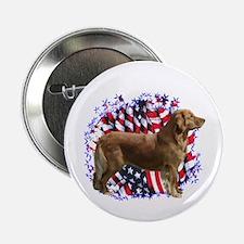 Golden Patriotic Button