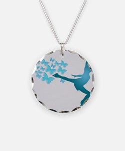 Skating LAdy Necklace