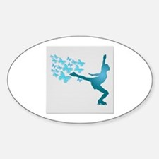 Skating LAdy Decal