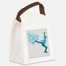 Skating LAdy Canvas Lunch Bag