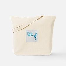 Skating LAdy Tote Bag