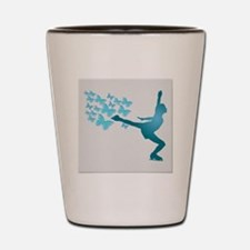 Skating LAdy Shot Glass