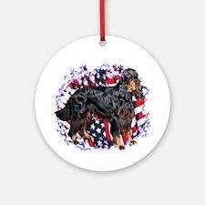 Gordon Patriotic Ornament (Round)