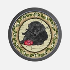 "Lab Puppy ""Jake"" Wall Clock"