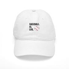 Baseball Is Life Baseball Baseball Cap