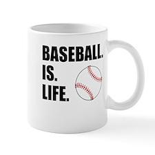 Baseball Is Life Mugs