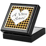 A Votre Sante Keepsake Box