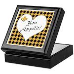 Bon Apetite Keepsake Box