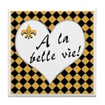 La Belle Vie Tile Coaster