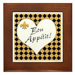Bon Apetite Framed Tile