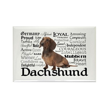 Dachshund Traits Magnets