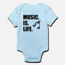 Music Is Life Body Suit