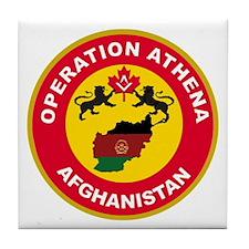 Operation Athena Tile Coaster