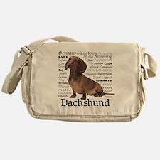 Dachshund Traits Messenger Bag