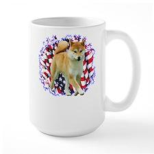 Shiba Patriot Mug