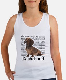 Dachshund Traits Tank Top