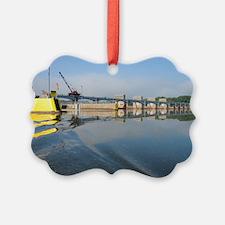 Lock  Dam 13 Ornament