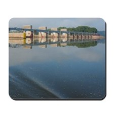 Lock  Dam 13 Mousepad